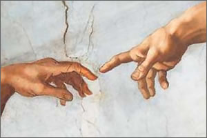 His rejection of biblical creation by God